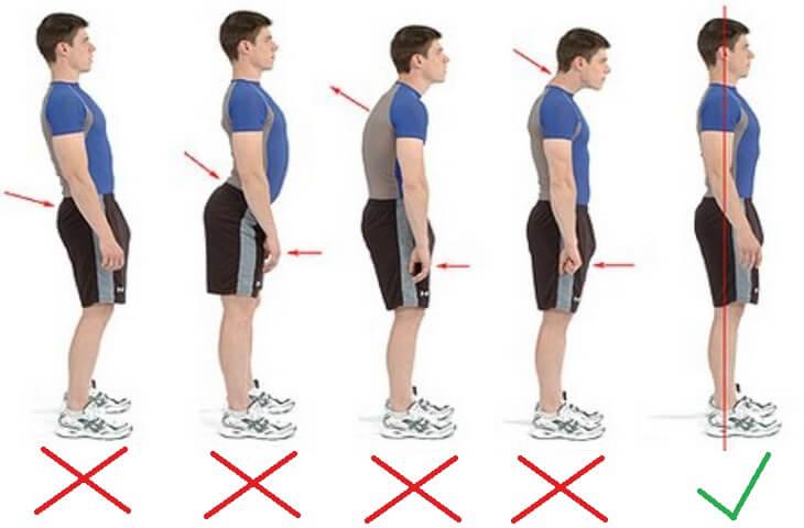 Упражнения для выравнивания осанки